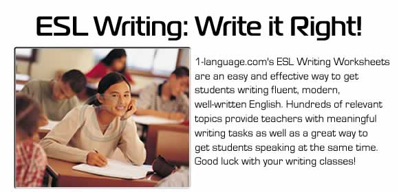ESL Online Literature Library – Esl Writing Worksheets